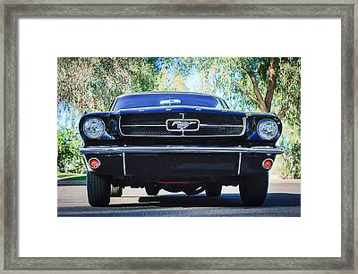 1965 Shelby Prototype Ford Mustang Framed Print