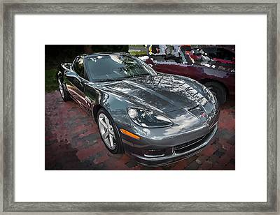 2010 Chevrolet Corvette Grand Sport  Framed Print by Rich Franco