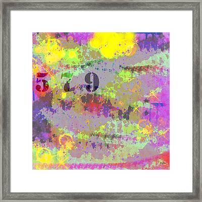 5 7 9 Framed Print