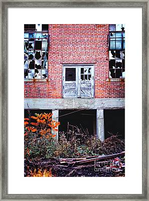 Abandoned Factory Framed Print by HD Connelly