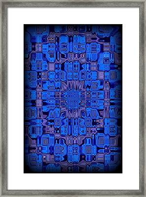 Abstract 119 Framed Print by J D Owen