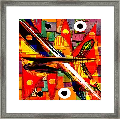 Abstract Art Collection Framed Print