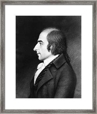 Albert Gallatin (1761-1849) Framed Print by Granger