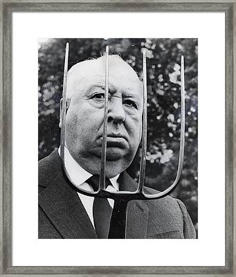 Alfred Hitchcock Framed Print by Retro Images Archive