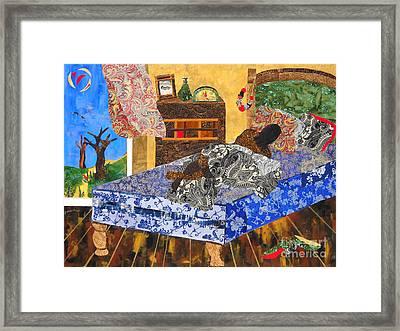 5 Am Framed Print by Paula Drysdale Frazell
