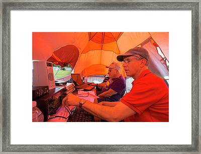 Amateur Radio Operators Framed Print