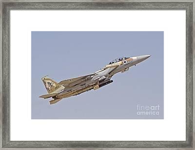 An F-15i Raam Of The Israeli Air Force Framed Print