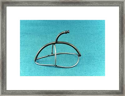 Anaesthesia Mask Framed Print