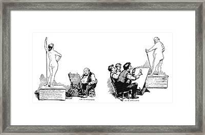 Anthony Comstock (1844-1915) Framed Print