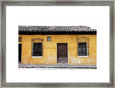 Antigua, Guatemala Framed Print by Julien Mcroberts