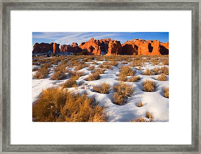 Arches National Park Framed Print by Utah Images