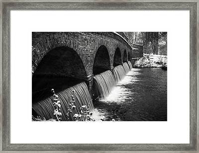 5 Arches Framed Print
