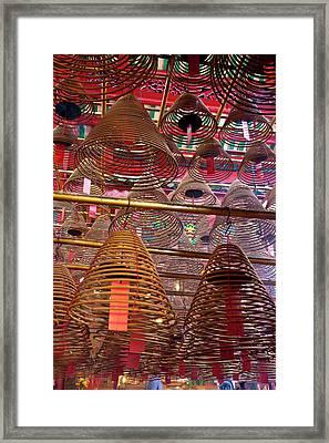 Asia, China, Hong Kong Framed Print by Julie Eggers