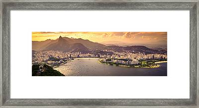 Aterro Do Flamengo Framed Print