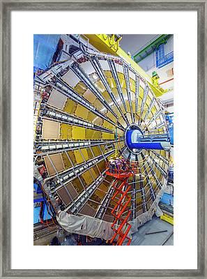 Atlas Detector Framed Print by Babak Tafreshi