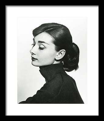 Audrey Hepburn Framed Prints