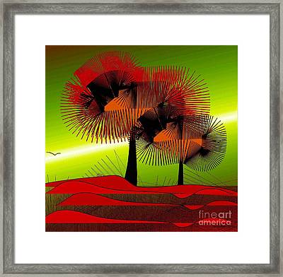 Autumn Colours Framed Print by Iris Gelbart
