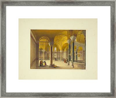 Ayasofya Mosque Framed Print by Celestial Images