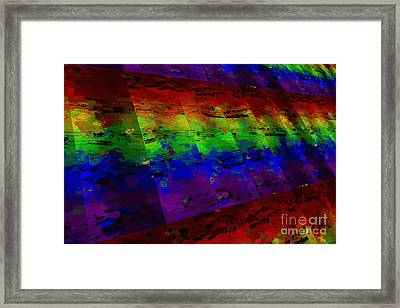 5-bar Multi-timbral Pastiche Framed Print