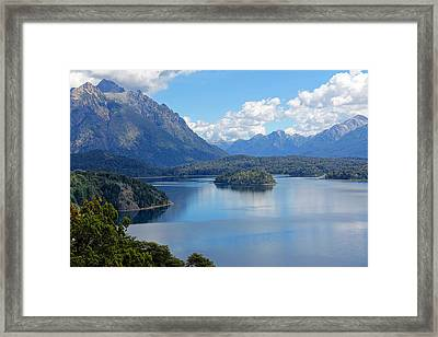 Bariloche Argentina Framed Print by Jim McCullaugh