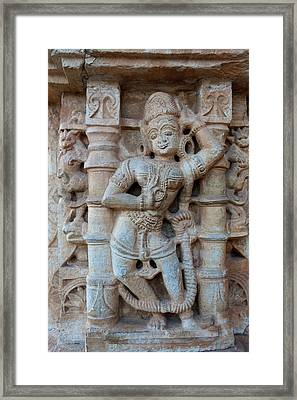 Bas Relief Chittaurgarh Citadel 6th Framed Print