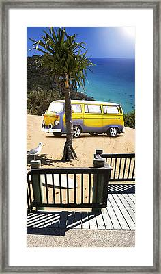 Beach Vacation Framed Print by Jorgo Photography - Wall Art Gallery
