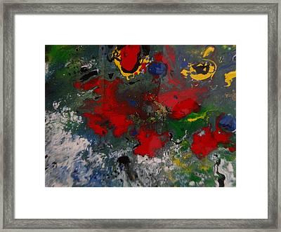 Orion Nebula Framed Print by Jean-francois Suys