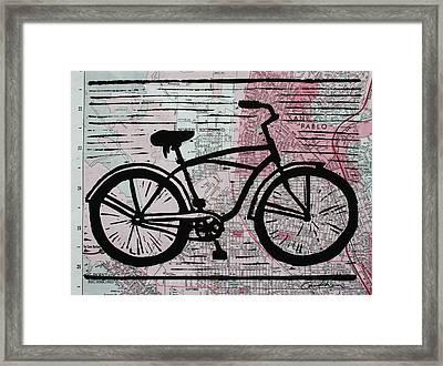 Bike 9 Framed Print