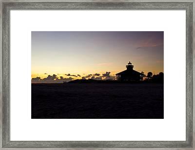 Boca Grande Florida Framed Print by Fizzy Image