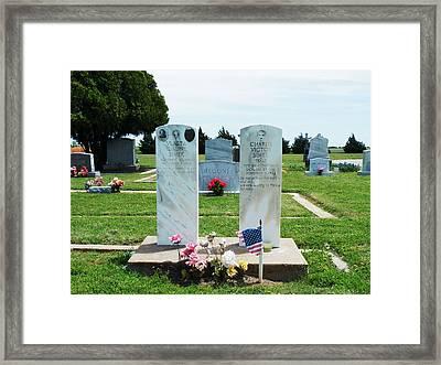 Bomarton Catholic Cemetery 5 Framed Print