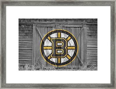 Boston Bruins Framed Print