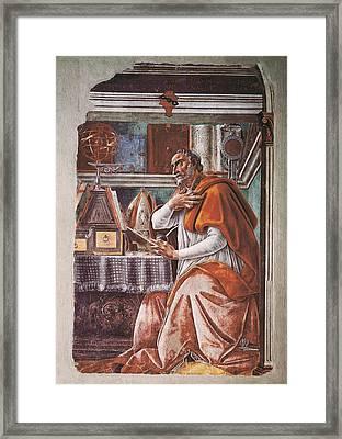 Botticelli, Alessandro Di Mariano Dei Framed Print by Everett