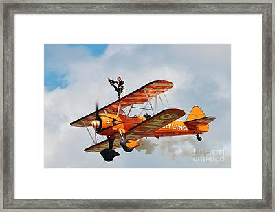 Breitling Wingwalkers Team Framed Print