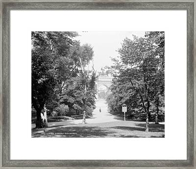 Brooklyn Prospect Park Framed Print by Granger