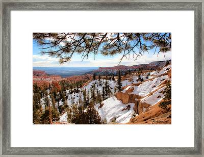 Bryce Canyon Framed Print by Marti Green