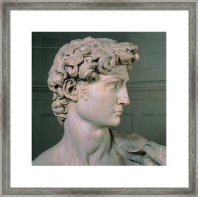 Buonarroti Michelangelo, David, 1501 - Framed Print by Everett