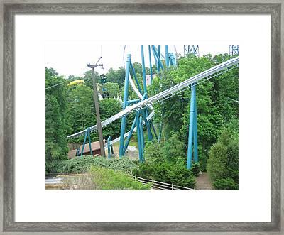 Busch Gardens - 12124 Framed Print by DC Photographer