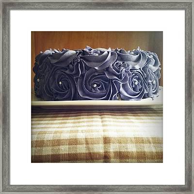 Cake Framed Print