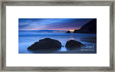 Framed Print featuring the photograph Campelo Beach Galicia Spain by Pablo Avanzini