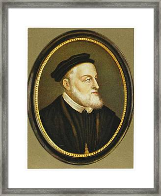 Carl V / Karl V Holy Roman Emperor Framed Print by Mary Evans Picture Library