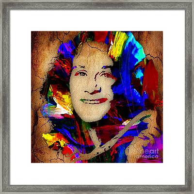 Carole King Collection Framed Print by Marvin Blaine