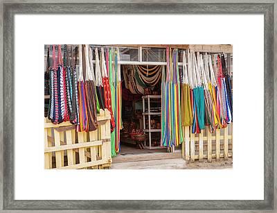 Central America, Honduras, Roatan Framed Print by Lisa S. Engelbrecht