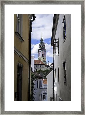 Cesky Krumlov Castle. Framed Print by Fernando Barozza