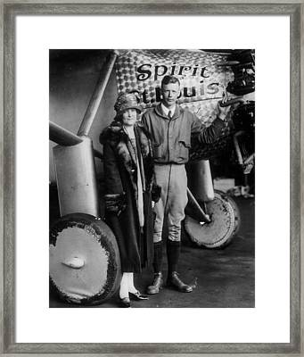 Charles Lindbergh Framed Print by Retro Images Archive