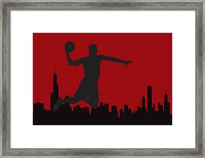 Chicago Bulls Framed Print