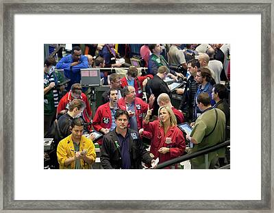 Chicago Mercantile Exchange Framed Print