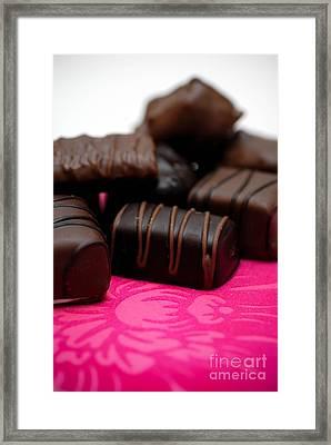 Chocolate Candies Framed Print