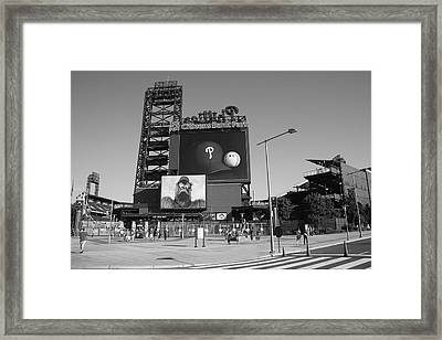 Citizens Bank Park - Philadelphia Phillies Framed Print