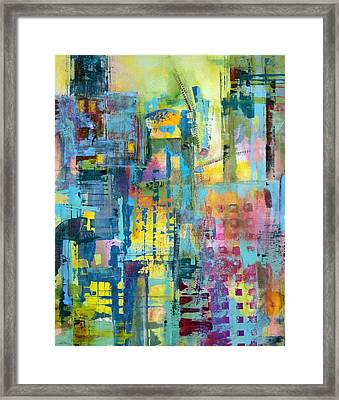 Cityscape Framed Print by Katie Black
