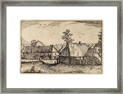 Claes Jansz Visscher After Johannes Van Doetechum Framed Print by Quint Lox